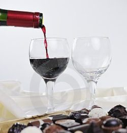 wine chocolate