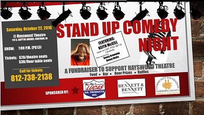 Stand Up Comedy Night at Hayswood Theatre