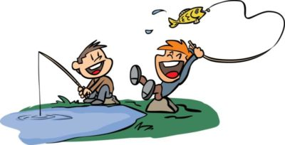 free fishing weekend for kids at o bannon woods state park rh thisisindiana org fishing clip art borders fishing clip art free images