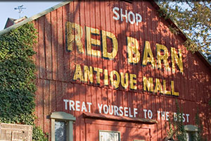 Red Barn Antique Mall in Corydon, IN