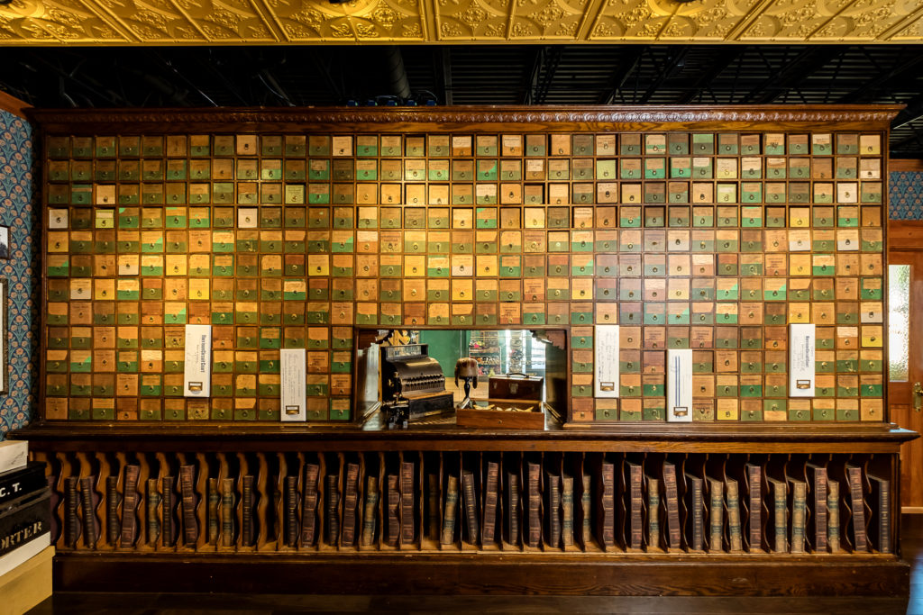 """""""The Archivist's Office"""" at the Harrison County Discovery Center"""