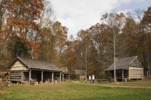 The Pioneer Farmstead at O'Bannon Woods State Park