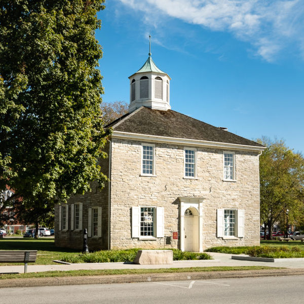 The First State Capitol Building in Historic Downtown Corydon, Indiana
