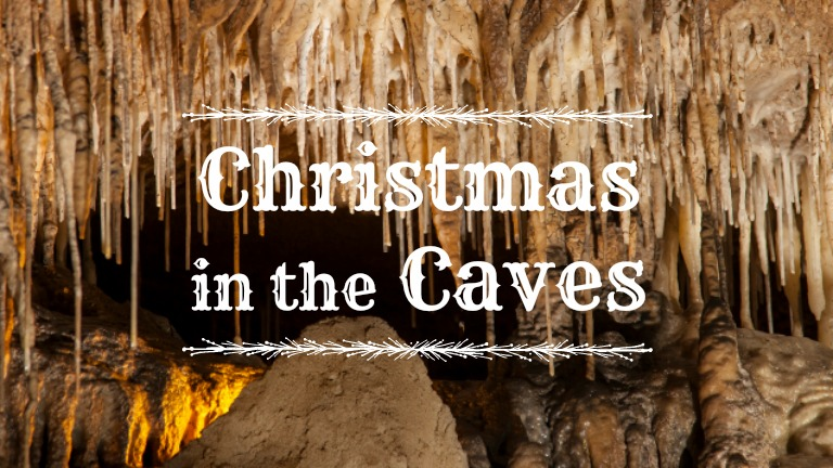 Christmas in the Caves homepage